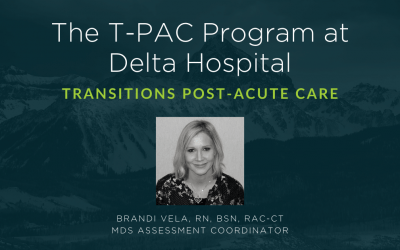 The Delta County Memorial Hospital T-PAC Program