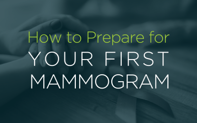 How to prepare for your first Mammogram