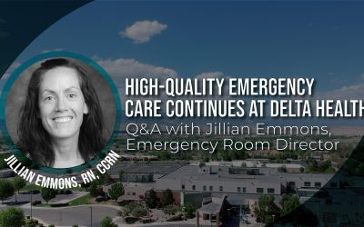 High-quality emergency care continues at Delta Health: Q&A with Jillian Emmons